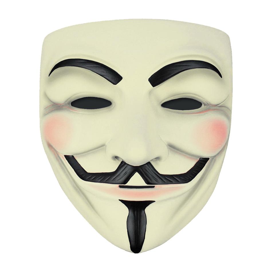 V For Vendetta Guy Fawkes Mask Halloween Costume