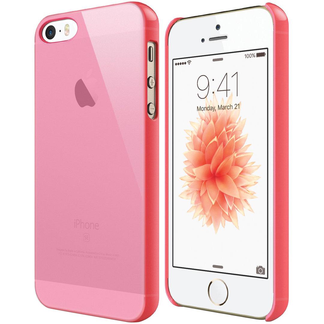 miglior sito web e303b 819fd PolySnap Hard Shell Case - Apple iPhone SE / 5s (Pink Frost)