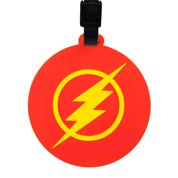 The Flash Logo Travel Bag Luggage Tag