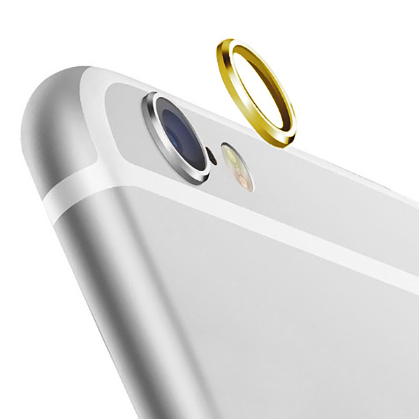 enorme sconto a44ed 6007a 2x Camera Lens Protective Ring Cover for Apple iPhone 6s Plus - Gold