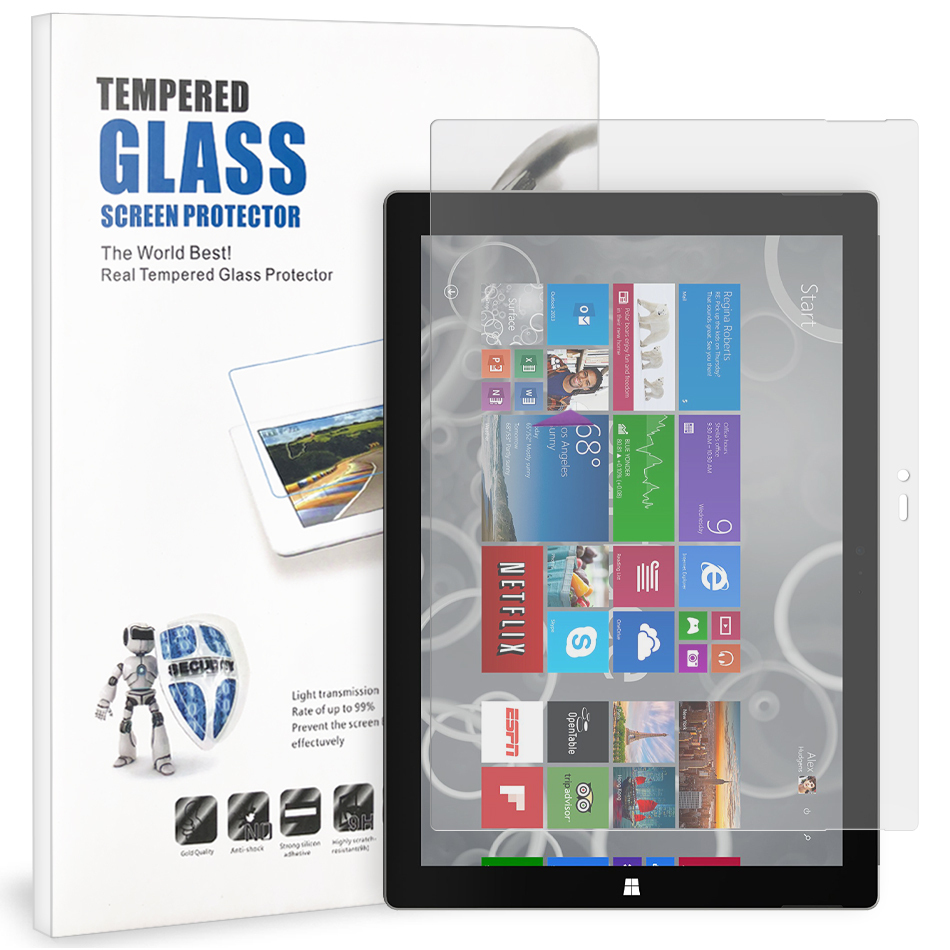 Tempered Glass Screen Protector For Surface Pro 3