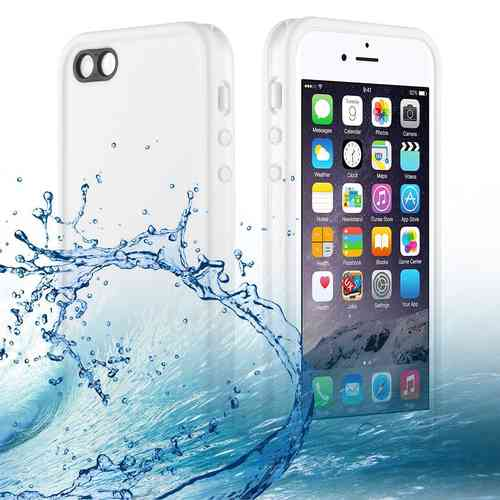 Extreme Full Fit Water Resistant Case for Apple iPhone SE / 5s - White