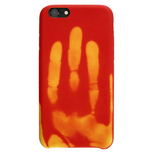 Thermal Sensor Heat Colour Changing Case for Apple iPhone 8 / 7 - Red