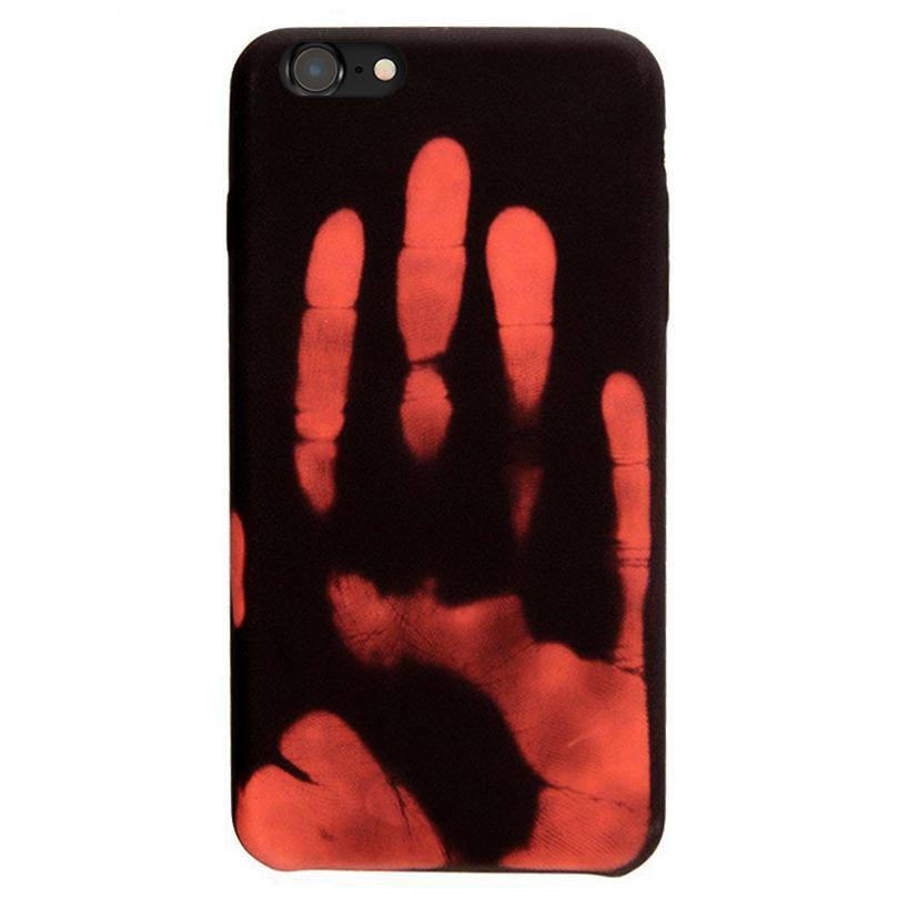best service bdeaf 9474a Thermal Sensor Colour Changing Case - Apple iPhone 7 (Black)
