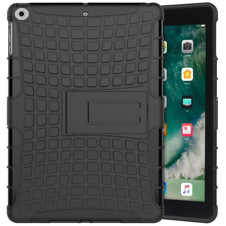 huge discount 54969 42341 Rugged Tough Shockproof Case - Apple iPad 9.7 Inch (2018) - Black