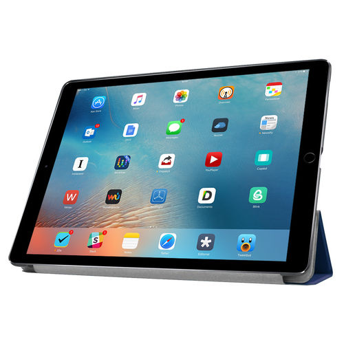 Trifold Smart Case & Stand for Apple iPad Pro (12.9 Inch) - Blue