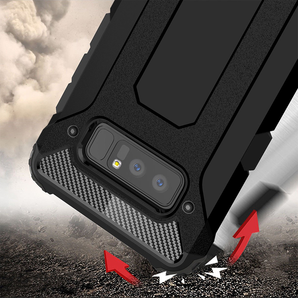 new style 1f9bb 1bee3 Defender Shockproof Case - Samsung Galaxy Note 8 (Black)