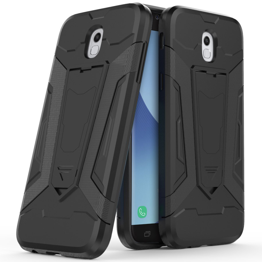 new product 0c727 eaa85 Slim Guard Plated Shockproof Case for Samsung Galaxy J5 Pro - Black