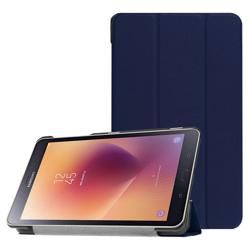 Trifold Smart Case Stand for Samsung Galaxy Tab A 8.0 (2017) - Blue
