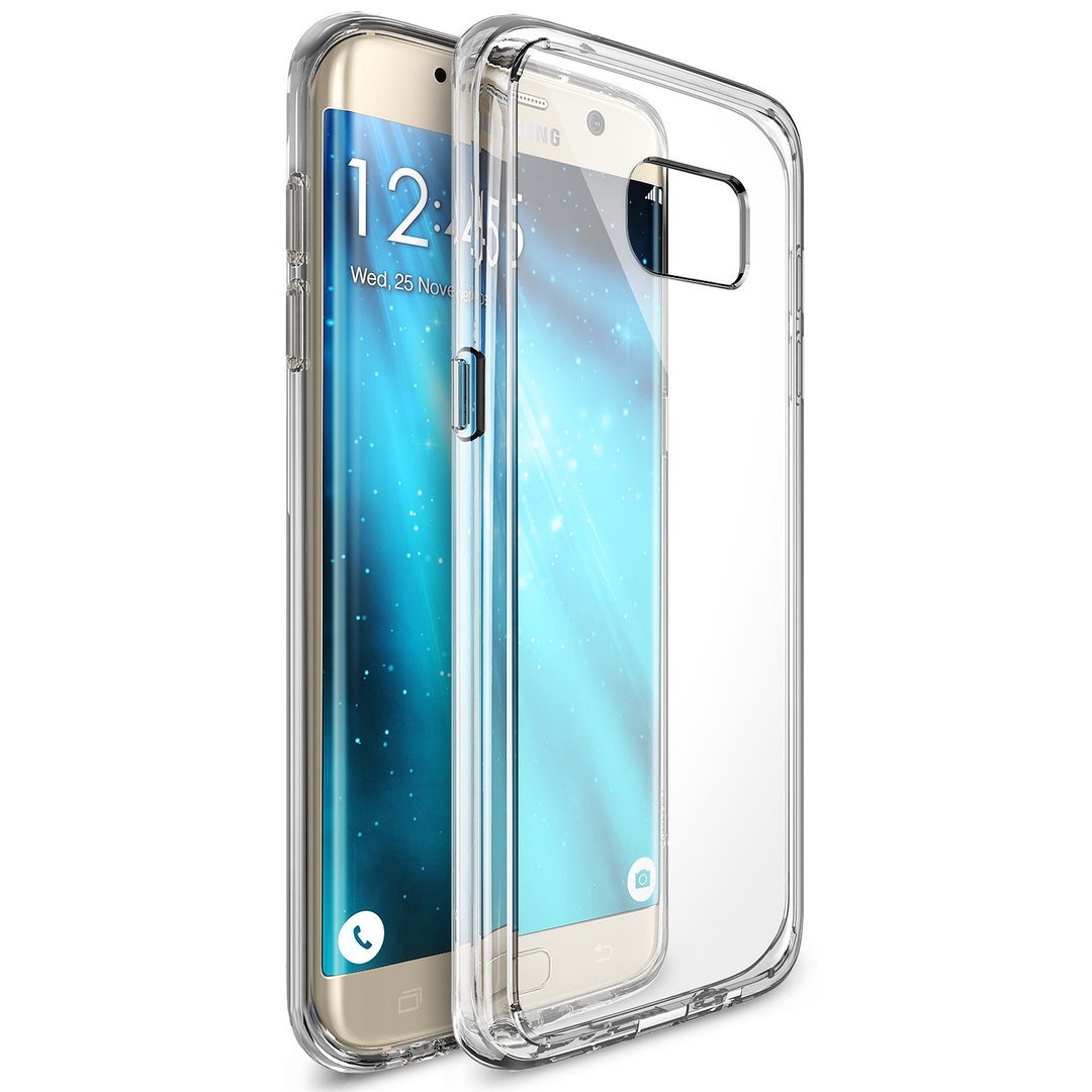 TOTU Fusion Crystal Bumper Case - Samsung Galaxy S7 Edge (Clear)
