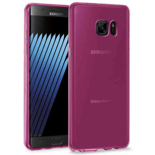 Flexi Gel Two-Tone Case for Samsung Galaxy Note 7 - Smoke Pink