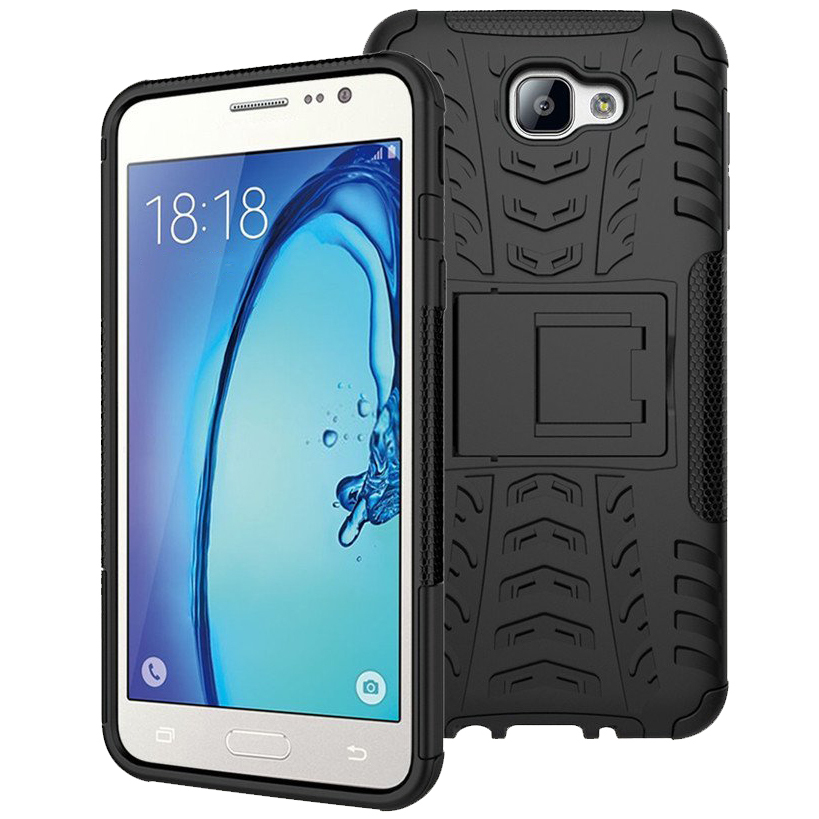 best sneakers f9e1c 5286d Rugged Tough Shockproof Case - Samsung Galaxy J5 Prime (Black)