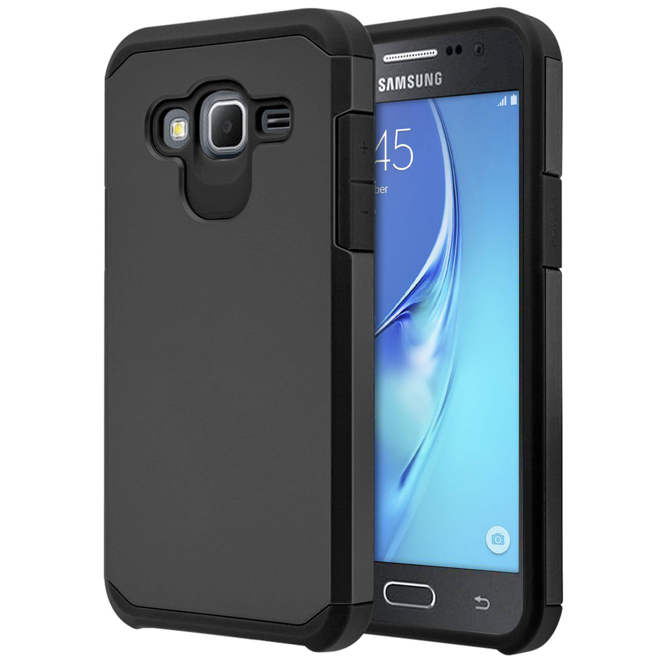 hybrid protective tough case samsung galaxy j3 2016. Black Bedroom Furniture Sets. Home Design Ideas