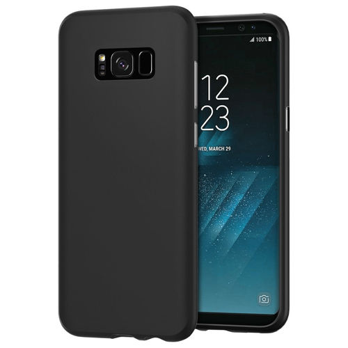 Flexi Slim Stealth Case for Samsung Galaxy S8 - Black (Two-Tone)