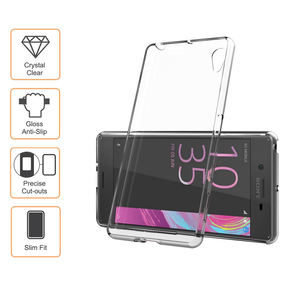 finest selection 0c10e fc701 Flexi Crystal Case for Sony Xperia X (Clear)