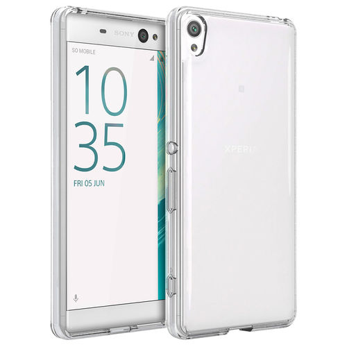 Flexi Slim Gel Case for Sony Xperia XA Ultra - Clear (Gloss Grip)