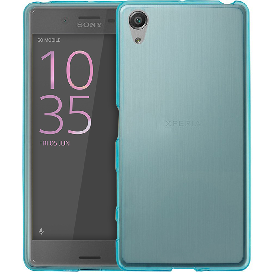 the best attitude 8e275 f3213 Flexi Gel Case - Sony Xperia X Performance (Smoke Blue)