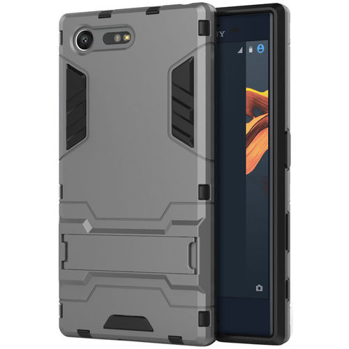 Slim Armour Tough Shockproof Case for Sony Xperia X Compact - Grey