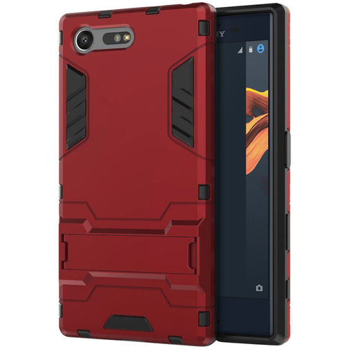 Slim Armour Tough Shockproof Case for Sony Xperia X Compact - Red