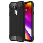 Military Defender Shockproof Case for LG G7 ThinQ - Black