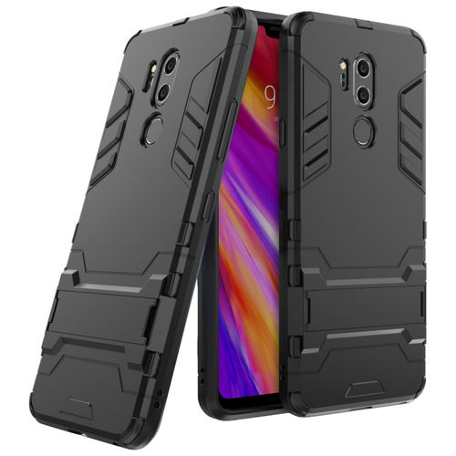 Slim Armour Tough Shockproof Case for LG G7 ThinQ - Black