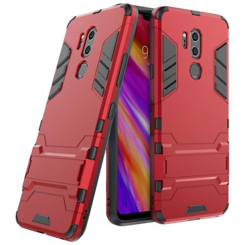 Slim Armour Tough Shockproof Case for LG G7 ThinQ - Red