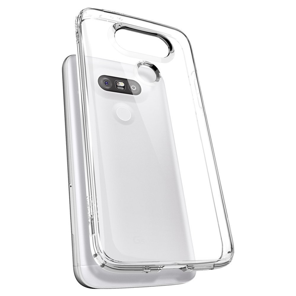 official photos 77c56 d93ba Flexi Thin Gel Case - LG G5 (Crystal Clear)