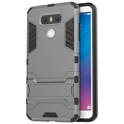Slim Armour Tough Shockproof Case for LG G6 - Grey