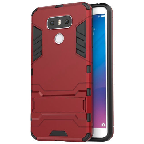 Slim Armour Tough Shockproof Case for LG G6 - Red