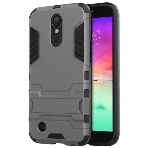 Slim Armour Shockproof Case for Telstra Signature 2 / LG K10 - Grey