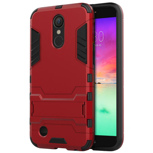 Slim Armour Shockproof Case for Telstra Signature 2 / LG K10 - Red