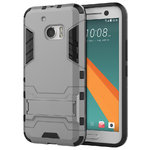 Slim Armour Rugged Tough Shockproof Case for HTC 10 - Silver