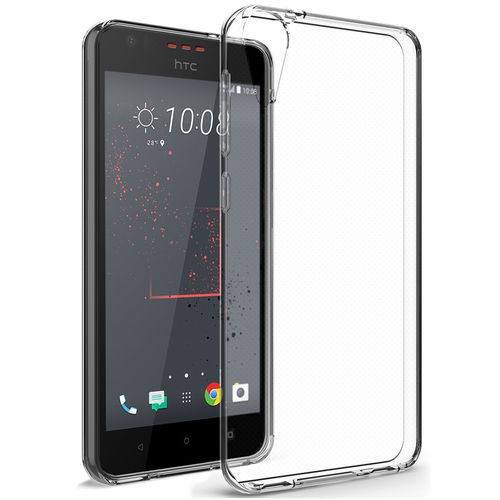 Flexi Gel Crystal Case for HTC Desire 825 - Clear (Gloss Grip)