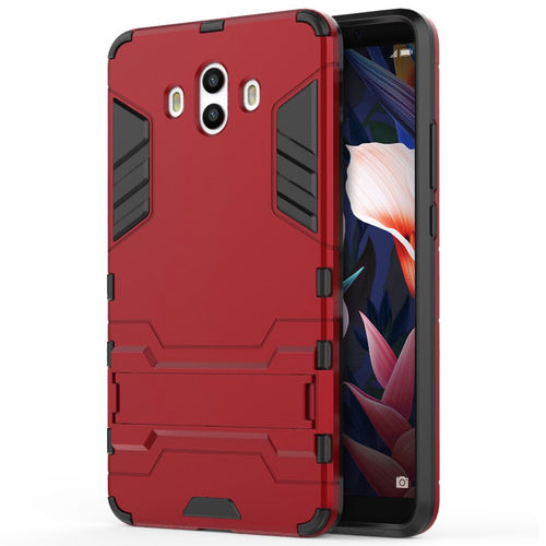 Slim Armour Tough Shockproof Case for Huawei Mate 10 - Red