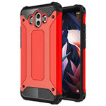 Military Defender Tough Shockproof Case for Huawei Mate 10 - Red