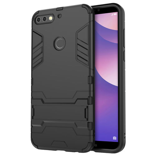 Slim Armour Tough Shockproof Case for Huawei Nova 2 Lite - Black