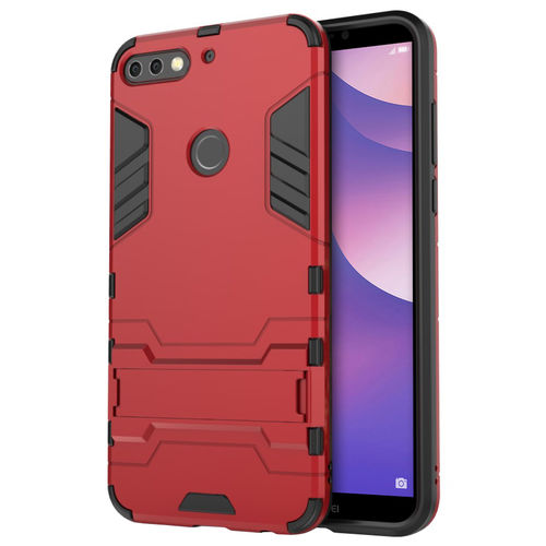 Slim Armour Tough Shockproof Case for Huawei Nova 2 Lite - Red
