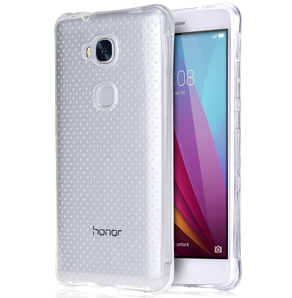 the best attitude 3b4f1 035d6 Flexi Shock Air Cushion Case - Huawei GR5 2015 / Honor 5X (Clear)