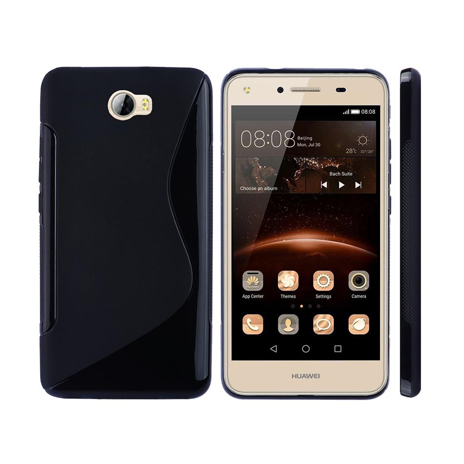 S-Line Flexi Case - Huawei Y6 Elite / Y5II (Black)