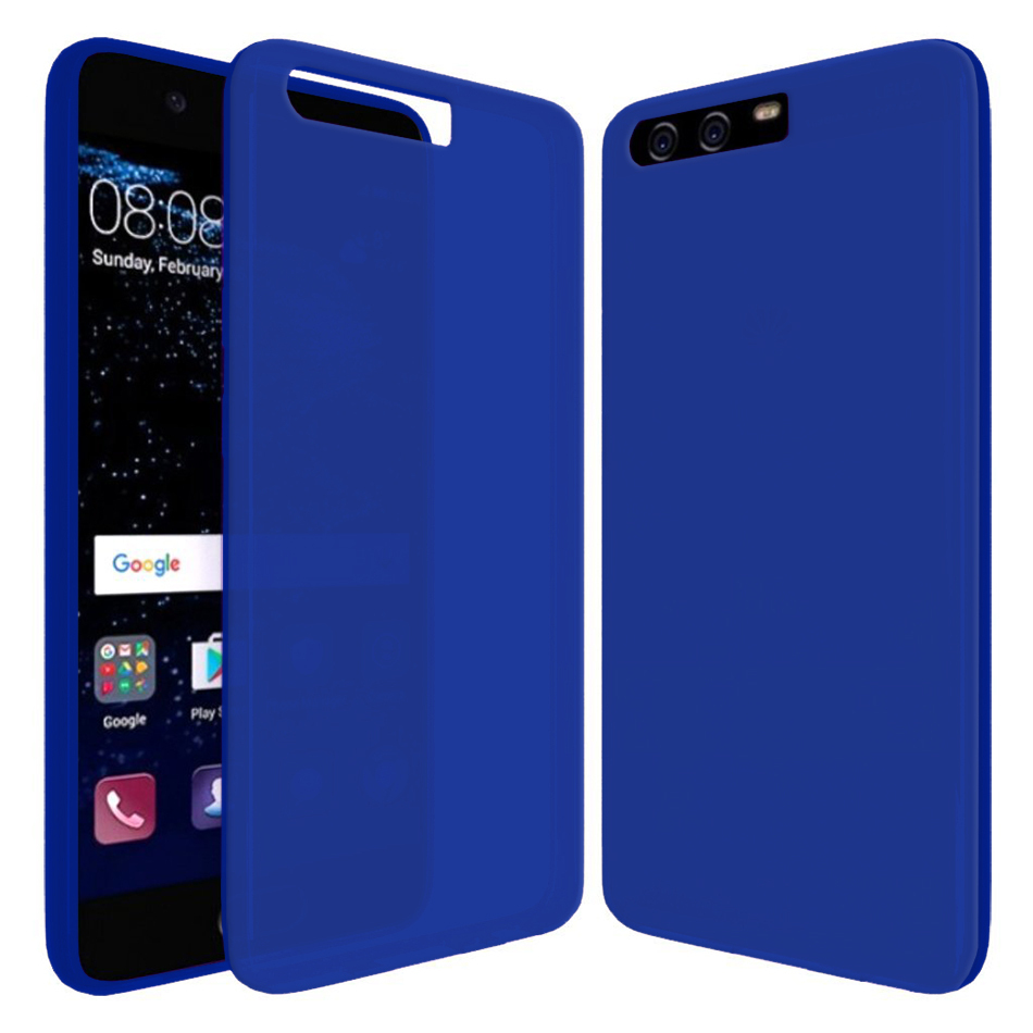 sports shoes 24164 3faf1 Flexi Gel Two-Tone Case for Huawei P10 - Blue Frost