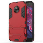 Slim Armour Tough Shockproof Case for Motorola Moto X4 - Red