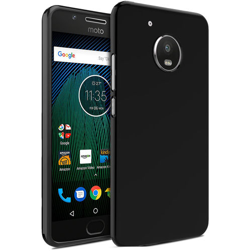Flexi Slim Stealth Case for Motorola Moto G5 Plus - Black (Two-Tone)