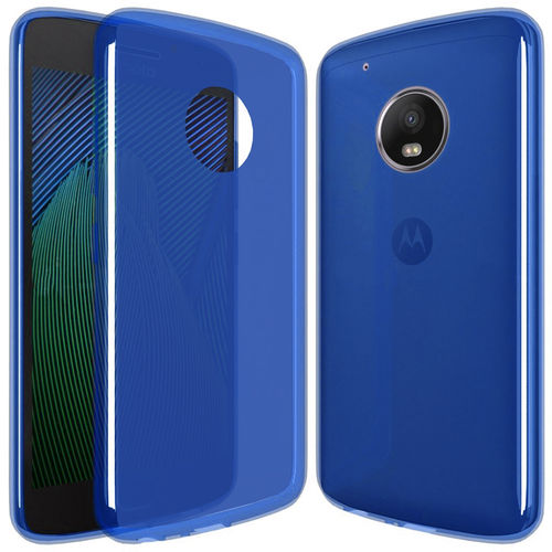 Flexi Gel Two-Tone Case for Motorola Moto G5 Plus - Blue Frost