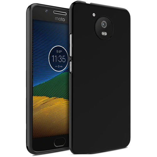Flexi Slim Stealth Case for Motorola Moto G5 - Black (Two-Tone)