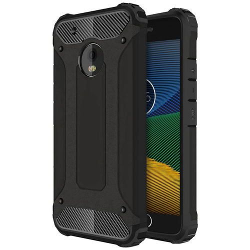 Military Defender Shockproof Case for Motorola Moto G5 - Black