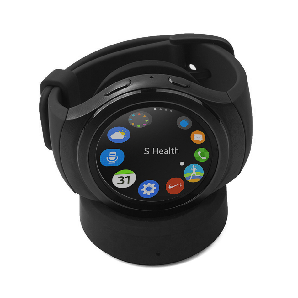 wireless charger charging dock samsung gear s3 s2. Black Bedroom Furniture Sets. Home Design Ideas