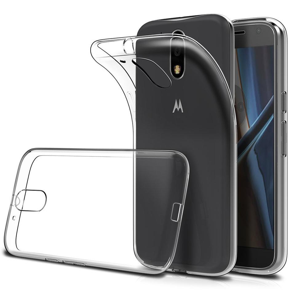on sale ec7e6 7726c Flexi Slim Gel Case for Motorola Moto G4 Plus (Clear)