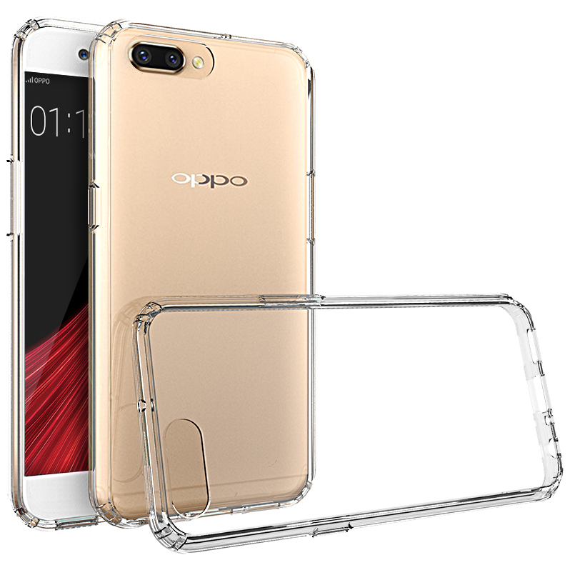 detailed look 74637 208ce Flexi Slim Acrylic Hybrid Case for Oppo R11 Plus - Crystal Clear