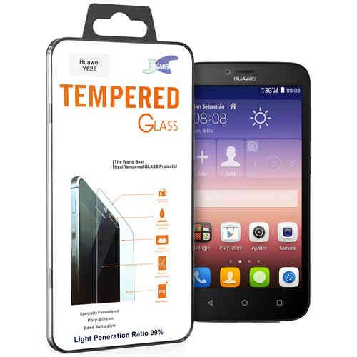 Calans 9H Tempered Glass Screen Protector for Huawei Y625 - Clear