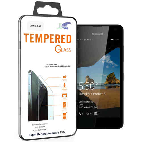 Calans 9H Tempered Glass Screen Protector for Microsoft Lumia 550